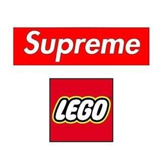 Коллаборация Supreme с Lego