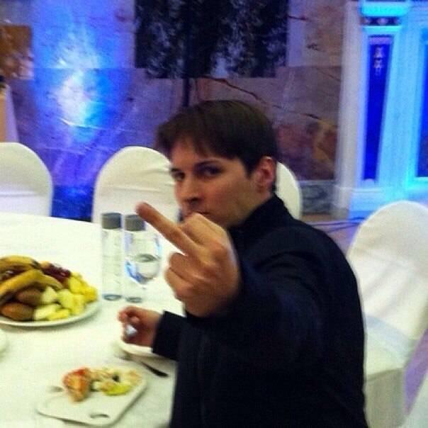 Павел Дуров разбил телефон