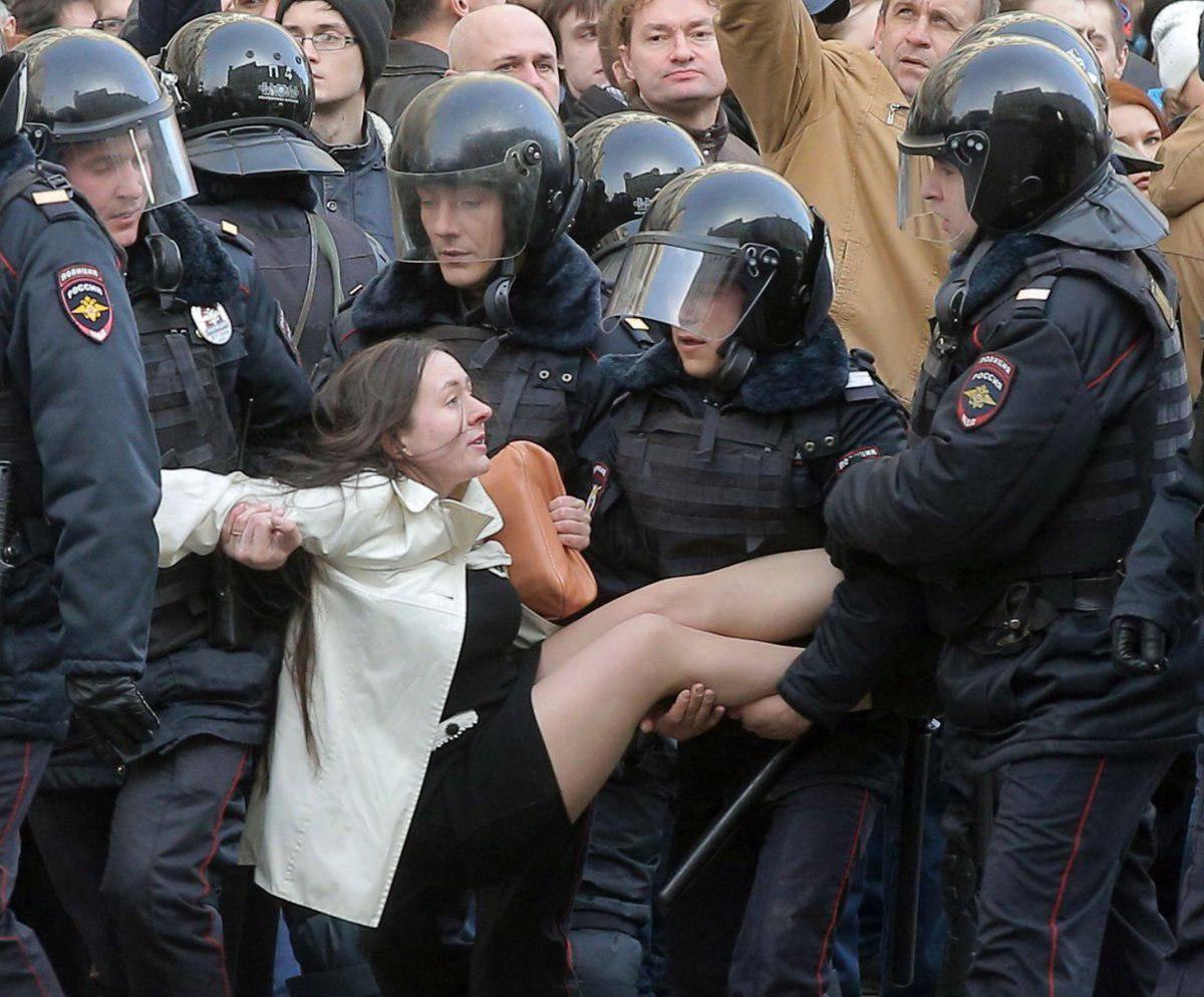 Митинг 26 марта (Навальный, Медведев, Путин)