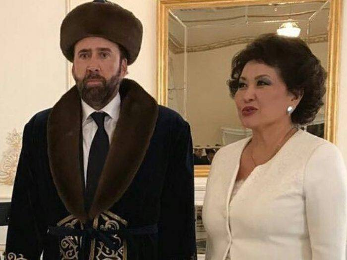 Николас Кейдж в Казахстане